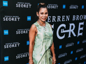 Tony nominee Daphne Rubin-Vega has a stylish night out.