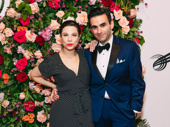Theater couple Lauren Marcus and Joe Iconis get together.