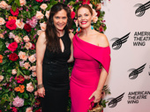 Jagged Little Pill director Diane Paulus and star Elizabeth Stanley snap a photo.