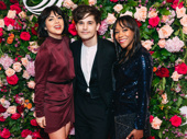 What a great night! Krysta Rodriguez. Andy Mientus and Nikki M. James snap a fun group shot.