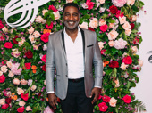 Tony nominee Norm Lewis is all smiles.