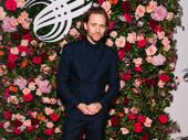 Betrayal star Tom Hiddleston looks sharp.