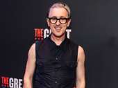 Tony winner Alan Cumming steps out for opening night of The Great Society.