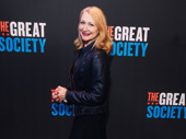 Stage and screen star Patricia Clarkson strikes a pose.
