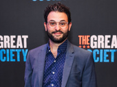 Succession star Arian Moayed steps out to support Brian Cox on opening night.