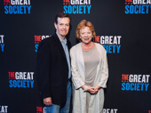 Theater couple Dylan and Becky Ann Baker get together for a photo.