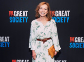 Tony winner Julie White beams for a photo.