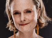 Barbara Garrick is Ladybird Johnson.