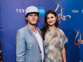 Theater couple Steven Pasquale and Phillipa Soo get together for a photo.