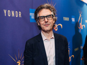 Ira Glass attends opening night of Freestyle Love Supreme.