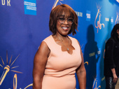 Gayle King has arrived.