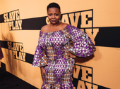 Tony winner Tonya Pinkins steps out for the night.