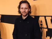 Betrayal star Tom Hiddleston celebrates this neighboring show.