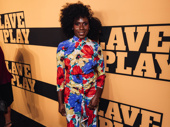 Slave Play costume designer Dede Ayite is ready to celebrate.