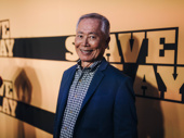 Acting legend George Takei arrives.