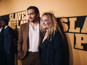 Recent Sea Wall/A Life star Jake Gyllenhaal with producing partner Riva Marker.