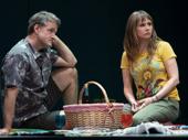 Jim True-Frost as Paul and Sally Murphy as Margaret in Linda Vista.
