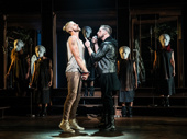 Aaron LaVigne, Tommy Sherlock & the touring company of Jesus Christ Superstar, photo by Matthew Murphy