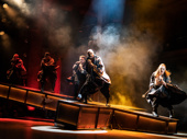 Alvin Crawford, Tyce Green & the touring company of Jesus Christ Superstar, photo by Matthew Murphy