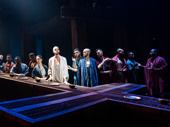 The touring company of Jesus Christ Superstar, photo by Matthew Murphy