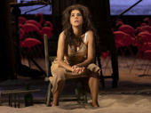 Marisa Tomei as Serafina Delle Rose in The Rose Tattoo.
