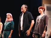 Linda Vista stars Chantal Thuy, Ian Barford and Cora Vander Broek take their opening night curtain call.