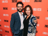 Tony nominee Arian Moayed and his wife Krissy Shields get together for a photo.