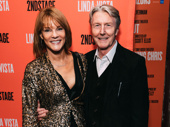 Theater couple Carolyn McCormick and Byron Jennings attend opening night of Broadway's Linda Vista.