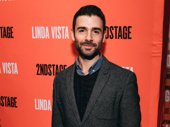 Broadway alum Adam Kantor suits up for opening night of Linda Vista.