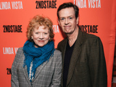 Acting couple Becky Ann Baker and Dylan Baker snap a sweet pic.