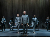 David Byrne and the cast of American Utopia.