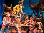The touring company of Escape to Margaritaville, photo by Matthew Murphy
