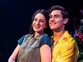 Sarah Hinrichsen as Rachel & Chris Clark as Tully in Escape to Margaritaville, photo by Matthew Murphy