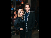 Broadway power couple Orfeh and Andy Karl have a date night out.