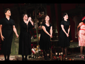 Susan Cella, Carolyn Mignini, Andrea Burns and Jennifer Sanchez play the Sicilian women in The Rose Tattoo.