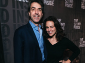 Musical couple Jason Robert Brown and wife Georgia Stitt have a date night out.