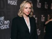 Game of Thrones Emmy nominee Gwendoline Christie arrives.