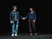 Will Hochman and Mary-Louise Parker take a curtain call on opening night.