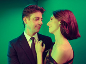 Christian Borle and Skye Mattox enjoy opening night of Little Shop of Horrors.