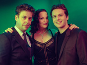 Little Shop of Horrors' Christian Borle, Tammy Blanchard and Jonathan Groff get together.