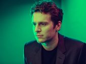 Jonathan Groff stars as Seymour in Little Shop of Horrors off-Broadway.