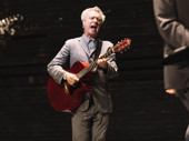 David Byrne performs on opening night of American Utopia.