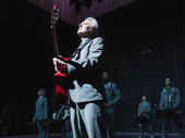 American Utopia creator and star David Byrne takes his opening night bow.