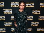 Two-time Tony nominee Daphne Rubin-Vega strikes a pose.