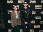 Siblings Rachel and Jack Antonoff step out for opening night of American Utopia.