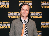 John Cameron Mitchell steps out for the Broadway opening of American Utopia.