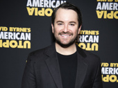 Beetlejuice star Alex Brightman attends opening night of American Utopia.(Photo: Jenny Anderson)