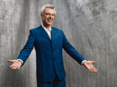 American Utopia's creator and star David Byrne is opening-night ready.