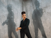 American Utopia vocalist Tendayi Kuumba knows how to work her angles.