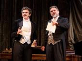 Bradley Dean as Monsieur Andre and Craig Bennett as Monsieur Firmin in The Phantom of the Opera.
